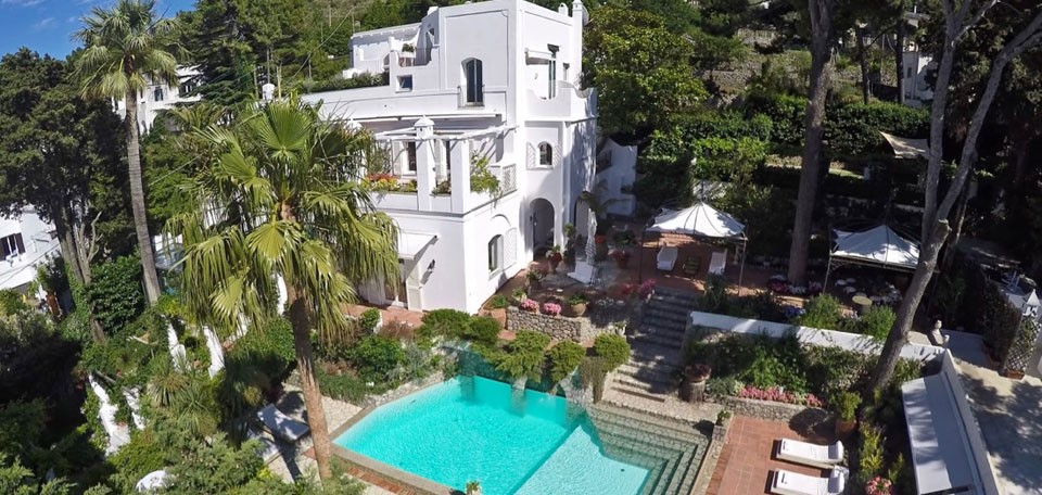 Villa le scale capri luxury villa capri italy for Villas in capri