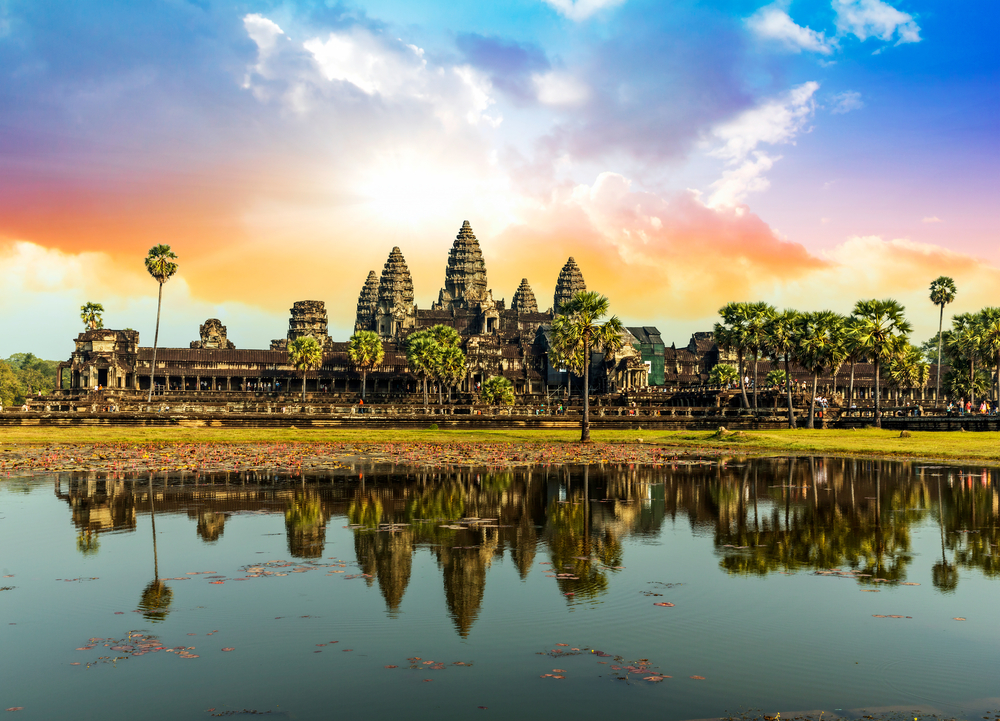 photogenic places in Asia Angkor Wat Siem Reap