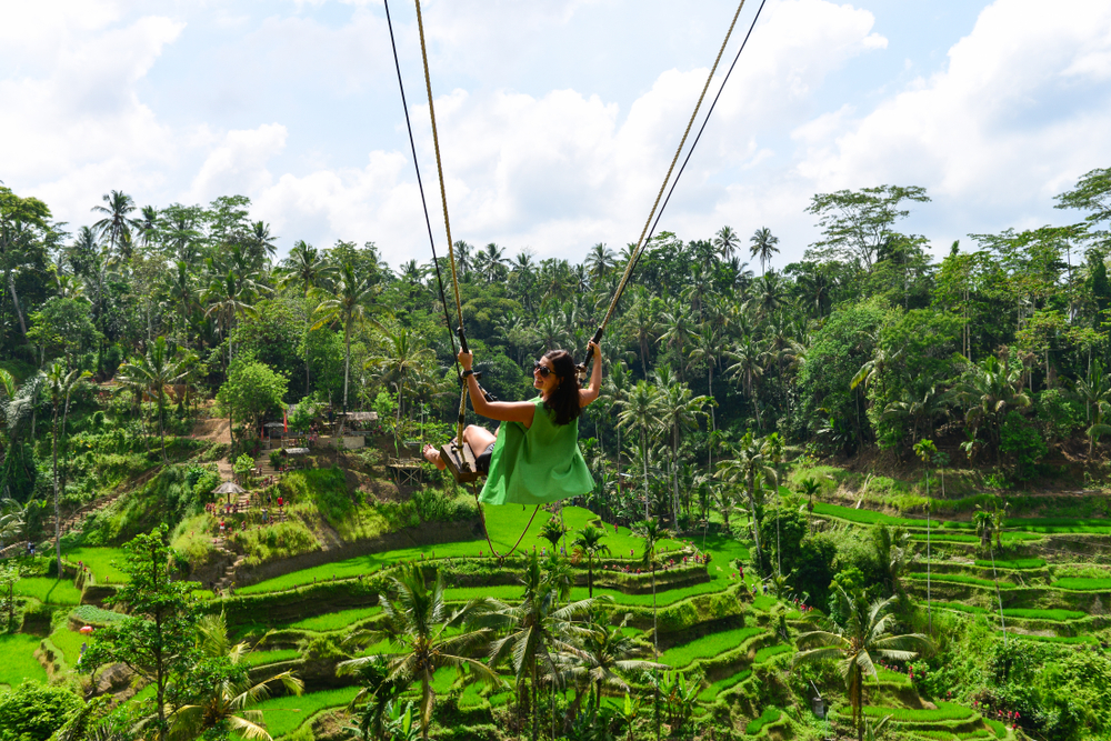 picture perfect ubud bali swing