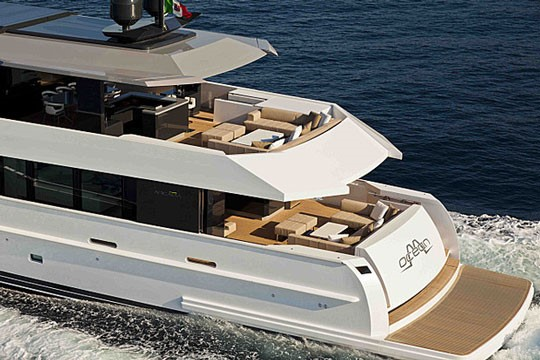 Stunning new superyacht available for charter