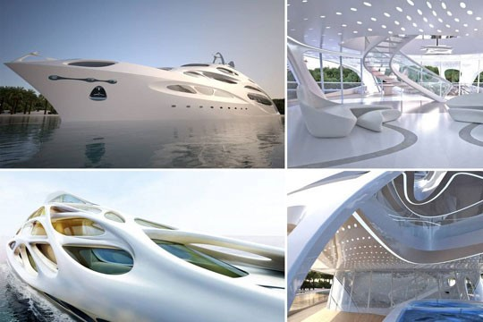 Luxury Superyachts of the future